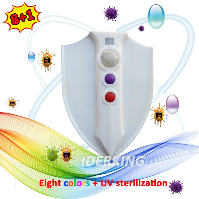 8 + 1 shield sterilization toilet lamp, factory direct, all the spot