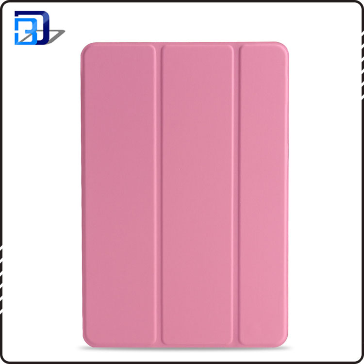 New arrival 9.7 inch three-fold pu leather smart tablet case high quality accessory case for ipad 9.7 2017