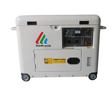 hot sale new noise free silent compressed air cooled diesel generator for sale