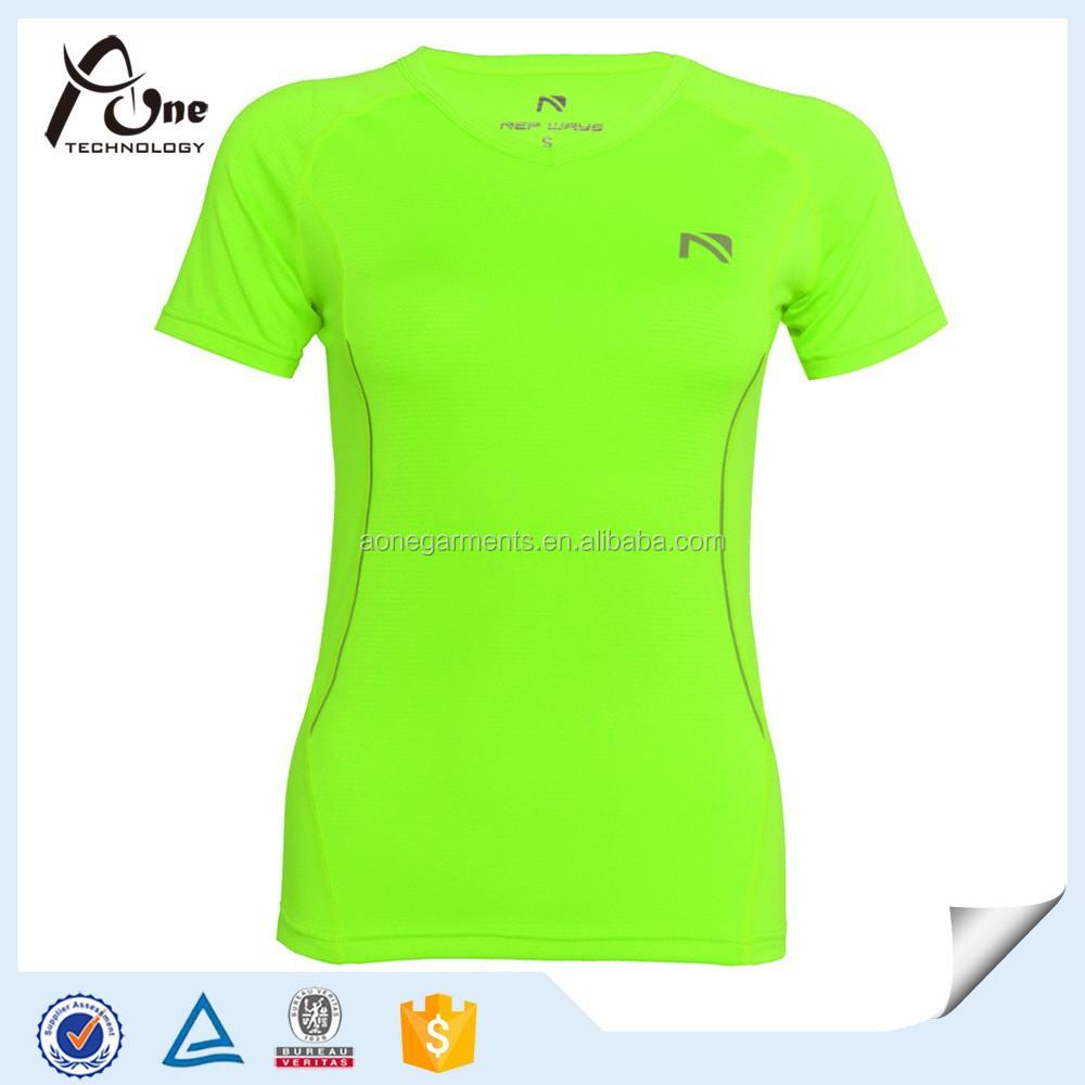 Custom breathable sport t shirts women brand plain cool for Custom made sport shirts