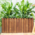 Most popular high durable wooden flower Pot