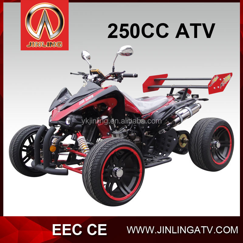 250cc go kart alloy wheel racing atv