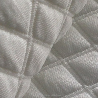Space dyed thick jacquard knitting fabric with rhombic check