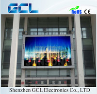 LED promotional items P10 P16 1R1G1B commercial advertising outdoor led display screen