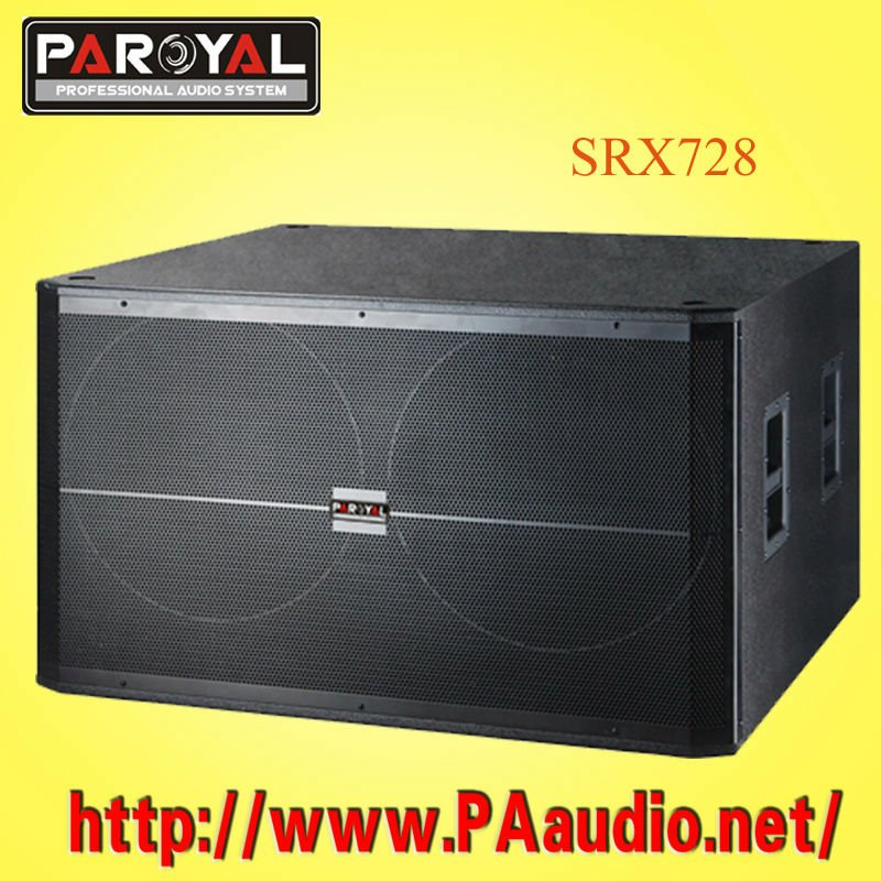 Dual18 inch SRX728 Subwoofer Profeional Speakers System