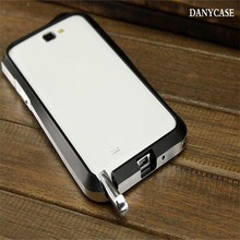high quality for samsung galaxy note 2 accessories, factory price metal for samsung note2 covers