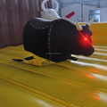 amusment park inflatable mechanical rodeo bull ride controls for children