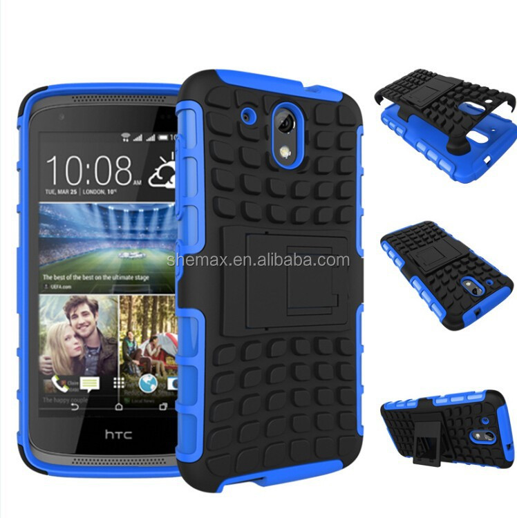 tpu pc, tpu pc material and samsung compatible brand hybrid rugged hard case cover For HTC Desire 526G+