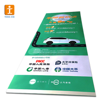 hanging roll up banner stand