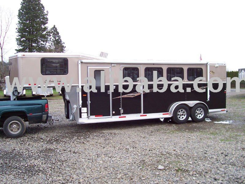 Used 2008 4 Horse Silverlite Cowboy Package LQ 4 Horse