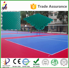 CE Certificate prove multi-purpose pp suspended portable volleyball court sports flooring