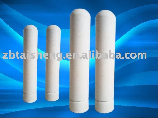 Auminum Titanate Heater protection tube for foundry industry