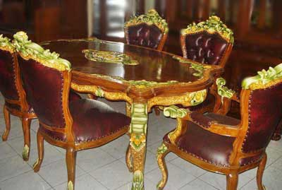 dining room sets ganesha