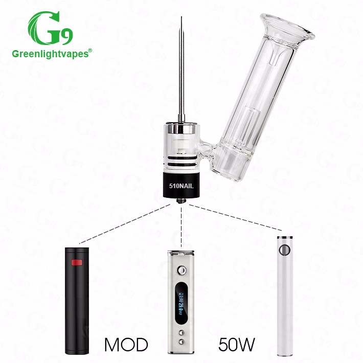 wholesale high quality cbd oil dabber vaporizersallday bho vaporizers g9 510nail