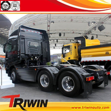 china exported 6x4 EURO 4 new condition 400hp 40 ton trailer head heavy duty truck