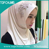 Burst sells in Middle East wholesale dubai embroidered new style arab hijab sex