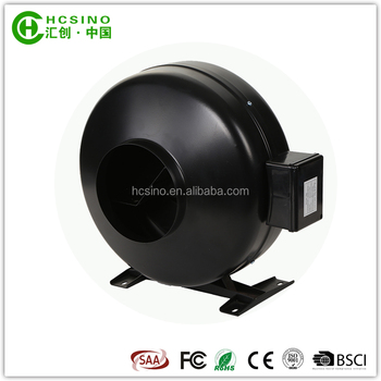 100~315mm Hydroponic Systems Indoor Centrifugal Inline Duct Fan