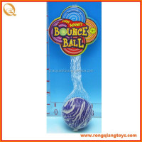 Rubber 60mm bouncing ball, skip ball SP71812015-6A-13