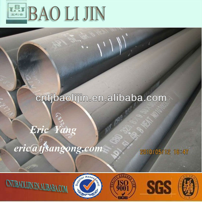 Hot rolled astm a500 grade b steel pipe 42crmo4 q t BS 1387 size