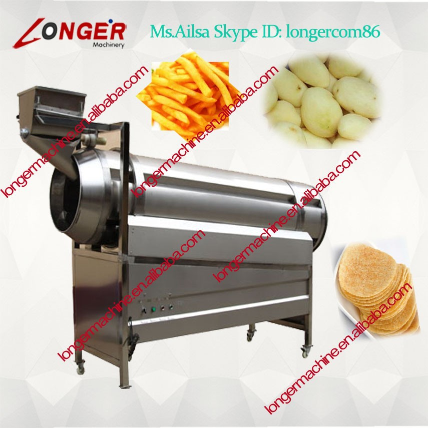 Potato chips seasoning machine/seasoning for potato chips/potato chips making product line