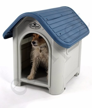 Plastic Dog Kennel Pet S-M