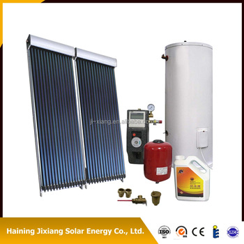 split presssurized heat pipe solar water heater system