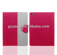 for ipad 5 leather case,pu leather case for ipad 5,stand leather case for ipad 5