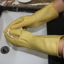 Hot Sale Skin Color Latex Household Gloves Wholesale