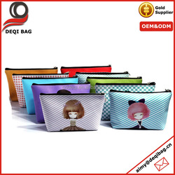 Custom Printing Fashion Pouch Bag Cheap Cosmetic Pouch