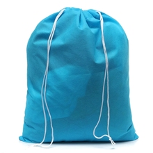 Home Wholesale Cheap Simple Lightweight Drawstring Non-woven Laundry Bags