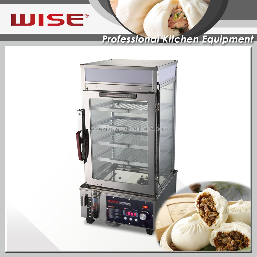 WISE Kitchen Commercial Chinese Bun Steamers Square Type For Commercial Restaurant Use