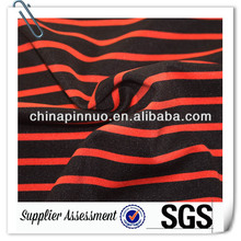 red black striped sweater knitting fabric