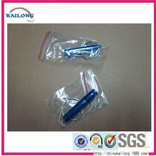 Personalized Double Sided Comes Promotional Custom Plastic Whistle With Lanyard / Necklace