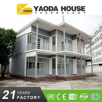 2017 Cheap Price prefab home concrete panel villa house