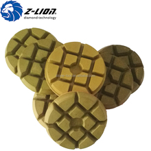 Granite marble abrasive for stone diamond polishing pad 4 inch