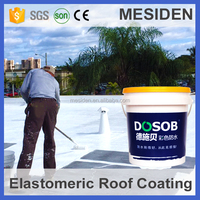 Roofing High Elastic Liquid Acrylic Waterproofing Coating/Paint for Concrete Roof Surface