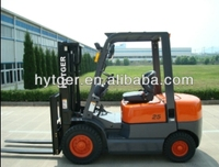 2.5ton Hytger Brand small forklifts function of forklift truck