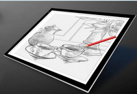 A2 Trasparent Portable Digital Drawing Board for Kids