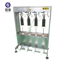 New Design semi automatic beer filling machine/beer keg washing and filling machine/glass beer bottle filling machine