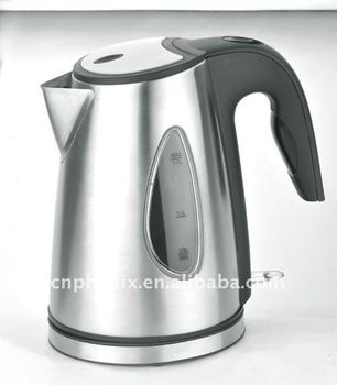New style 1.7L Stainless steel electric cordless water kettle