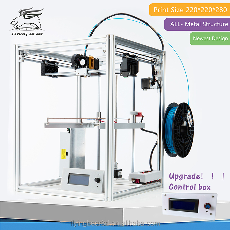 Flyingbear-P902 DIY 3d Printer kit Full metal Large printing size High Quality Precision Gift
