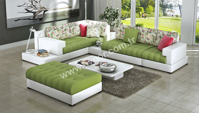 High Quality Cheap Luxury Economic Modern Ankara Corner Sofa Set