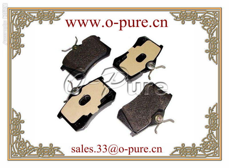 Best seller car parts fit for FIAT,FORD,LANCIA,MAZDA,PEUGEOT,RENAULT,SEAT,SKODA,VW ceramic brake pad None abestos good price