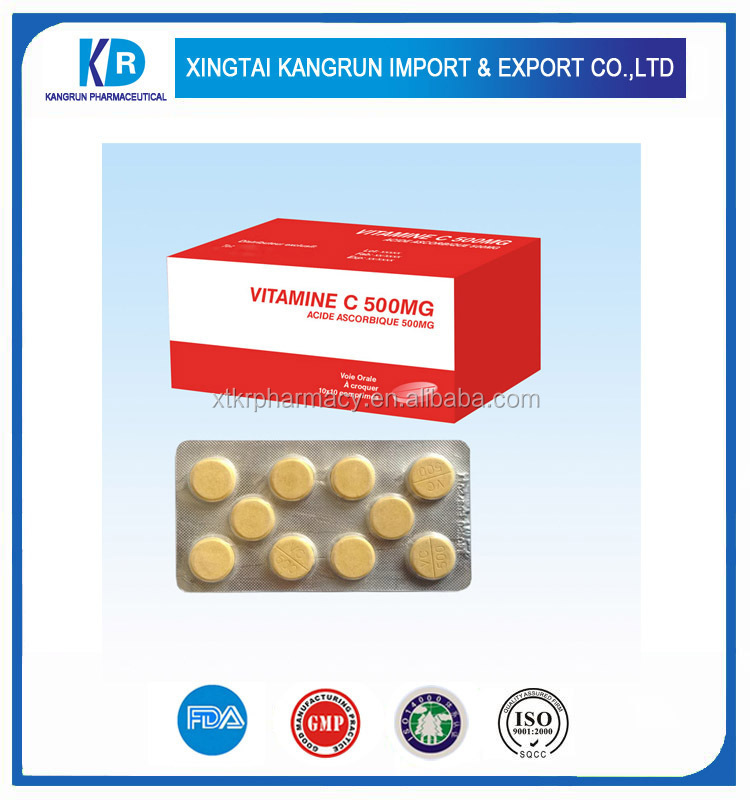 oem vitamin c tablet with echinacea purb herb extract