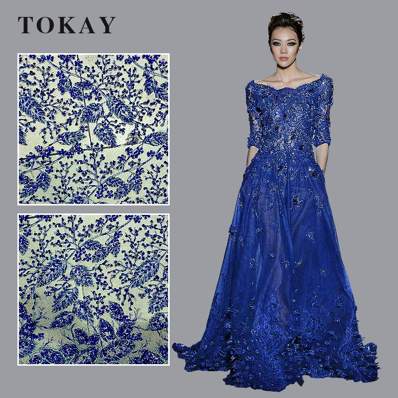 2017 good quality african tulle lace for party