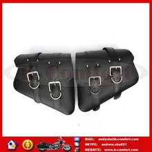 KCM630 MOTORCYCLE SADDLEBAGS THROW UNDER SEAT SIDE BAG POUCH FOR HARLEY DAVIDSON