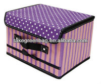 Lovely child toy storage box organizer