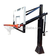 5-10FT Height Adjustable Inground Basketball System