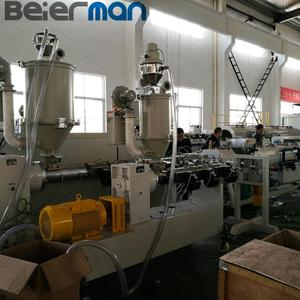 20-63mm 2 layers single screw PE pipe production line of co-extrusion