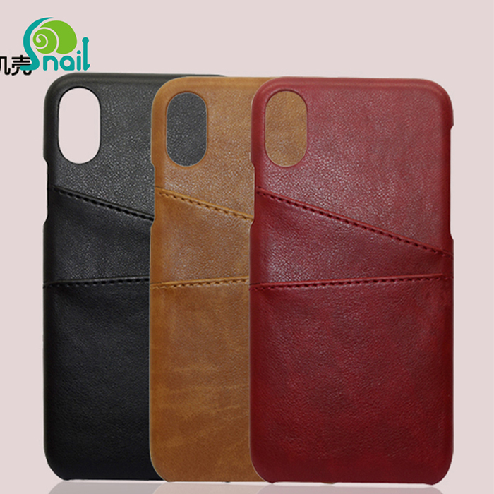 For iPhone 8 Leather case Wallet Phone Case, Slim PU Leather Back Case Cover With Credit Card Holder For iPhone 8